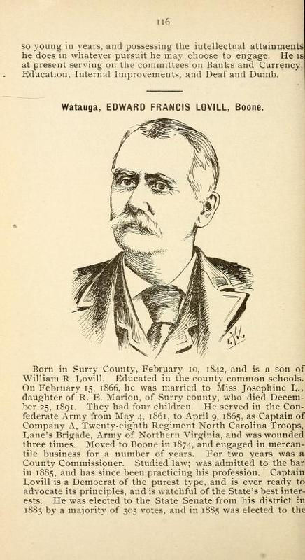 Biography of the State Officers and Members of the General Assembly of North Carolina, 1893