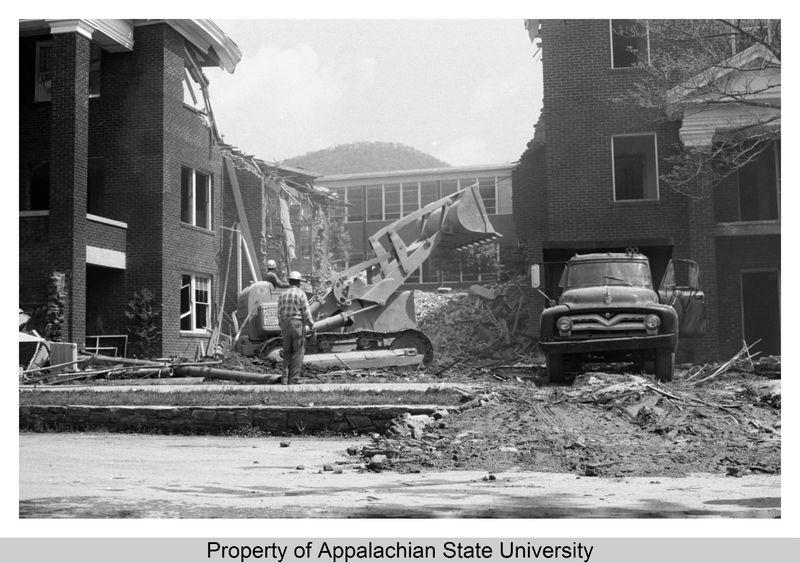 White Hall Demolition