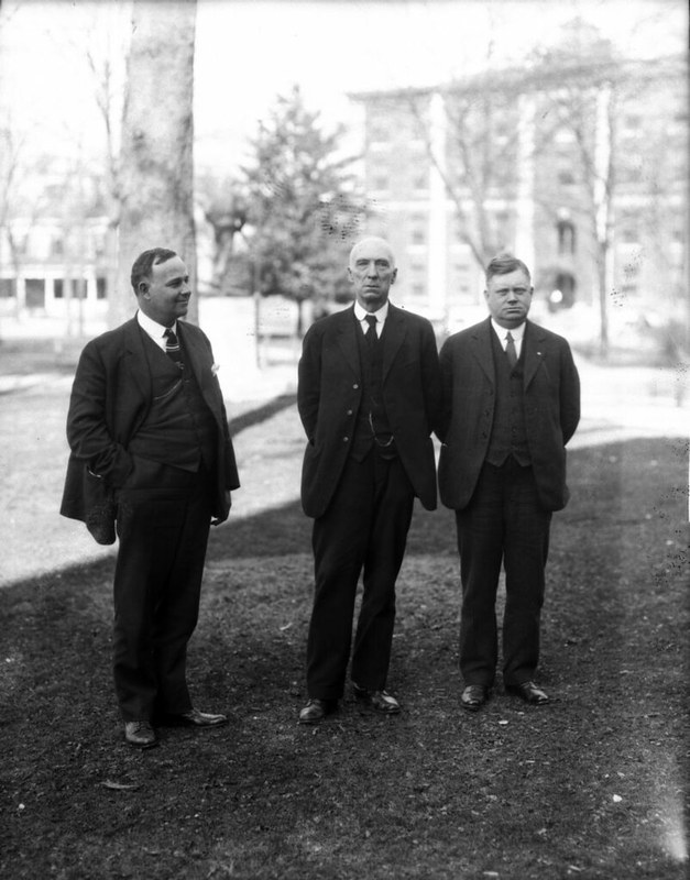 Highway Workers 4AM Bowie and Rufus Doughton and HG Connor, jr 1921