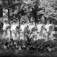 Graduating Nurses at State Hospital (Dorthea Dix Hospital)