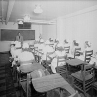 Nursing Students at State Hospital (Dorthea Dix Hospital)